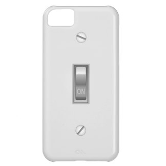 写実的なスイッチ iPhone5Cケース