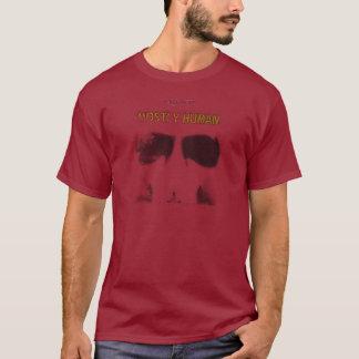 写実的なステンシル: 大抵人間 Tシャツ