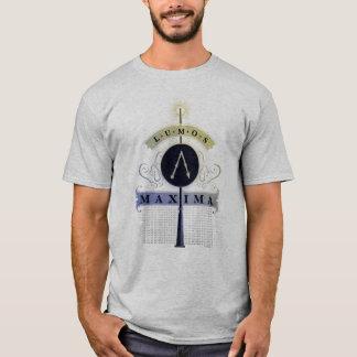 写実的なハリー・ポッターシリーズの綴り| Lumosの最高 Tシャツ