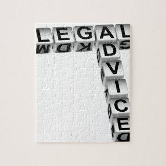 写実的な法律鑑定のサイコロ ジグソーパズル