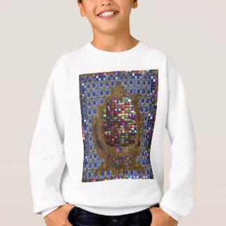 写実的な絵画の水晶石のタイルエジプトNY スウェットシャツ