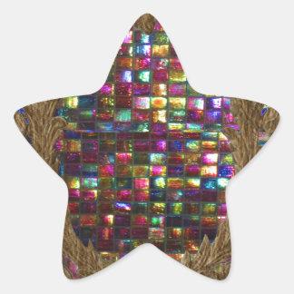 写実的な絵画の水晶石のタイルエジプトNY 星シール