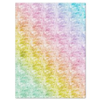 写実的な質の虹のパステル 薄葉紙