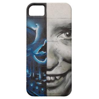 写実的な顔 iPhone SE/5/5s ケース
