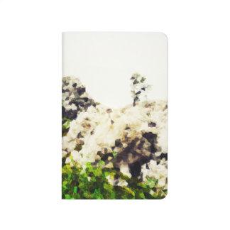 写実的な高山草原#3 ポケットジャーナル