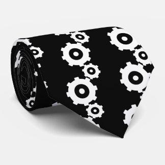 写実的なGearwheels オリジナルネクタイ
