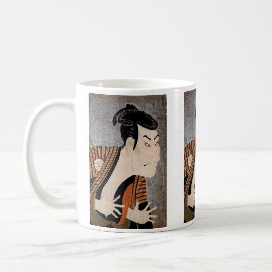 写楽、大首絵 コーヒーマグカップ