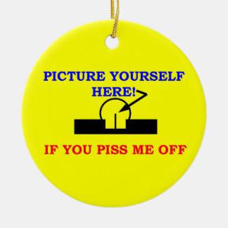 写真あなた自身 セラミックオーナメント