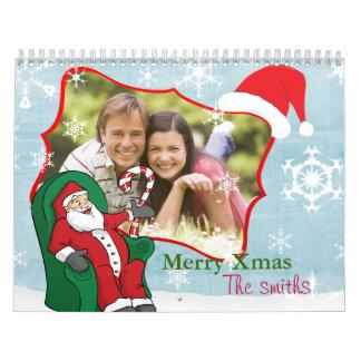写真が付いているクリスマスのカレンダー カレンダー