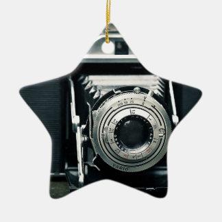 写真のカメラ セラミックオーナメント