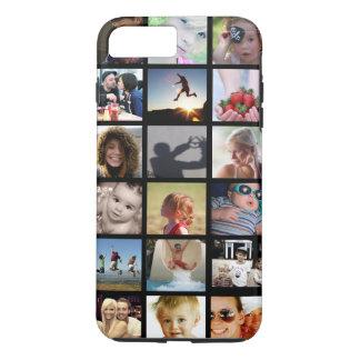 写真のコラージュのiPhone 7のプラスの場合(-仲間) iPhone 8 Plus/7 Plusケース