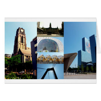 写真のコラージュロッテルダム1 カード