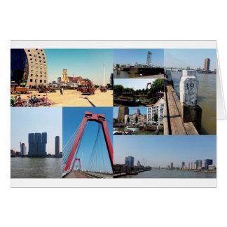写真のコラージュロッテルダム2 カード
