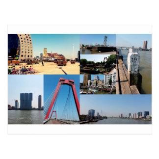 写真のコラージュロッテルダム2 ポストカード