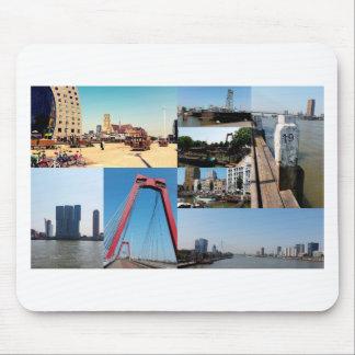 写真のコラージュロッテルダム2 マウスパッド