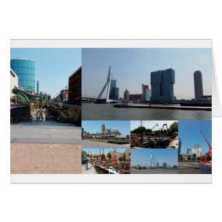 写真のコラージュロッテルダム3 カード