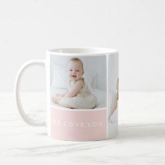 写真のコラージュ愛して下さい コーヒーマグカップ