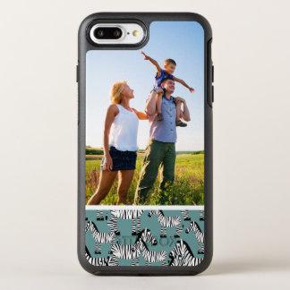 写真のシマウマパターン オッターボックスシンメトリーiPhone 8 PLUS/7 PLUSケース