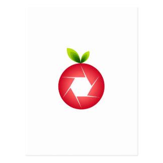 写真のフルーツ ポストカード