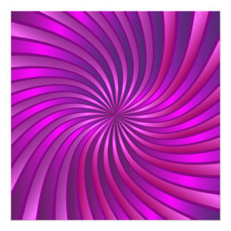 写真のプリントのピンクの螺線形渦 フォトプリント