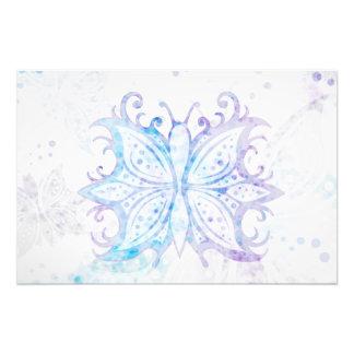 写真のプリントの蝶抽象芸術 フォトプリント