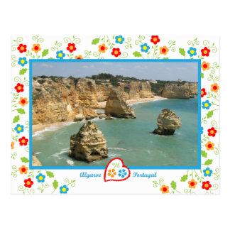 写真のポルトガル- Benagil ポストカード