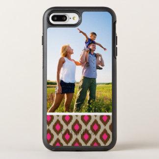 写真のモダンなイカットパターン オッターボックスシンメトリーiPhone 8 PLUS/7 PLUSケース