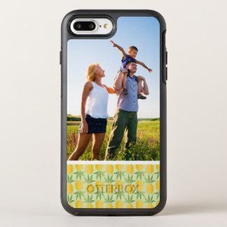 写真のレトロのパイナップル オッターボックスシンメトリーiPhone 8 PLUS/7 PLUSケース