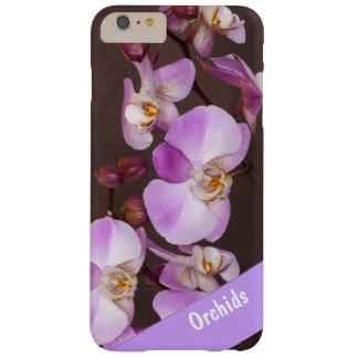 写真の上のすみれ色および白い蘭の終わり BARELY THERE iPhone 6 PLUS ケース