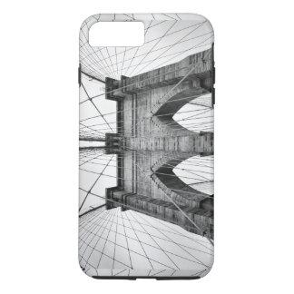 写真の上のブルックリン橋の終わり iPhone 8 PLUS/7 PLUSケース
