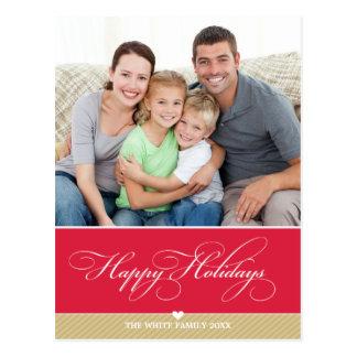 写真の休日の郵便はがき:: 美しいタイプ3 ポストカード