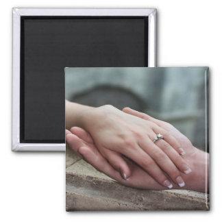 写真の保存を日付の提案の婚約の磁石加えて下さい マグネット