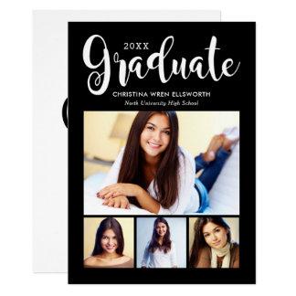写真の卒業の発表 の2018卒業生 カード