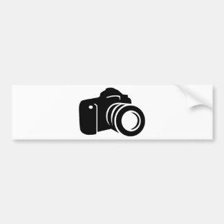 写真の反射カメラ バンパーステッカー