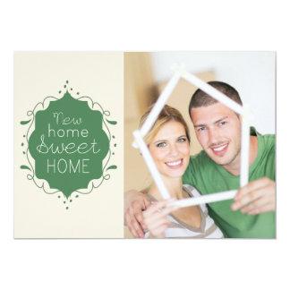 写真の家の甘い家の移動発表/緑 カード
