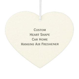 写真の家をつるすカスタムで名前入りなハートを作って下さい カーエアーフレッシュナー