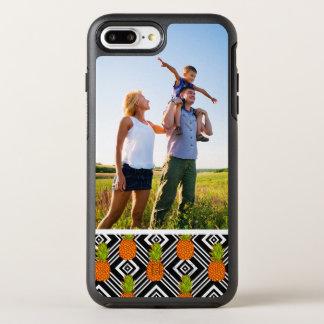 写真の幾何学的なパイナップル オッターボックスシンメトリーiPhone 8 PLUS/7 PLUSケース