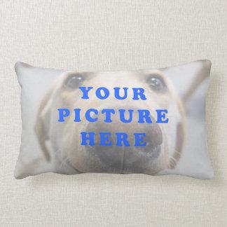 写真の枕 ランバークッション
