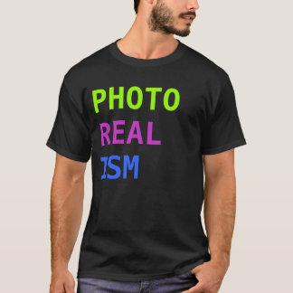 写真の現実主義 Tシャツ