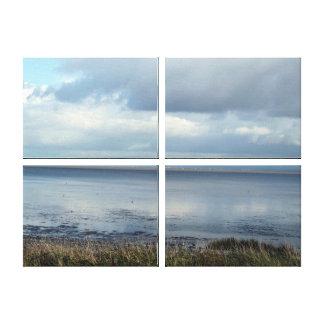 写真の窓平静の眺め キャンバスプリント