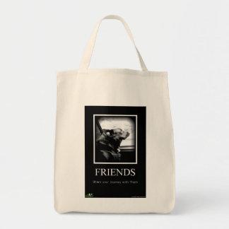 写真の終わり: 友人 トートバッグ