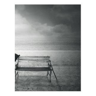 写真の芸術の黒く及び白いアール・デコ、ヴィンテージ、記憶 ポストカード