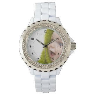 写真の記憶カスタムな腕時計 リストウォッチ
