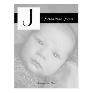 写真の誕生の発表 ポストカード