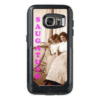 写真の電話箱Saugatuckを航海するヴィンテージ オッターボックスSamsung Galaxy S7ケース