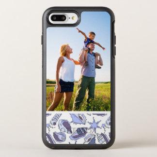 写真のLavendarの貝殻 オッターボックスシンメトリーiPhone 8 Plus/7 Plusケース