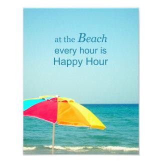 写真を言うビーチの楽しい時間 フォトプリント