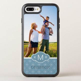 写真及びモノグラムのアヤメパターン オッターボックスシンメトリーiPhone 8 PLUS/7 PLUSケース