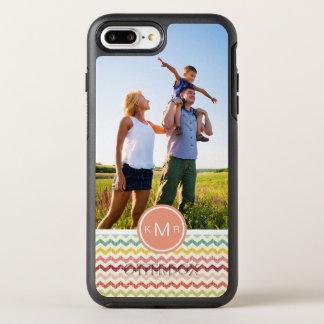 写真及びモノグラムのシェブロンパターン4 オッターボックスシンメトリーiPhone 8 PLUS/7 PLUSケース