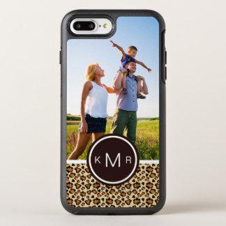 写真及びモノグラムのチータの皮パターン オッターボックスシンメトリーiPhone 8 PLUS/7 PLUSケース